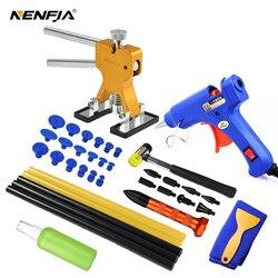 Outils de réparation de dent sans peinture de carrosserie Kit de réparation de Dent extracteur de Dent de voiture avec extracteur de colle