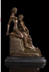 Kupfer handwerk ation Home Kinder Baby Engel cherubs geformt Bronze figuren Rodin ewigen idol statuen Kunst Karten verkäufe