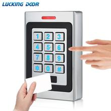 RFID Keypad Access Control System Kit Door Lock 125KHz EM Card IP67 Waterproof Metal Case Security Entry Reader Standalone