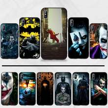 Batman En Joker Hot Koop Cool Marvel Zwart Tpu Soft Phone Case Cover Voor Iphone 5 5 5s 5c Se 6 6 S 7 8 Plus X Xs Xr 11 Pro Max(China)