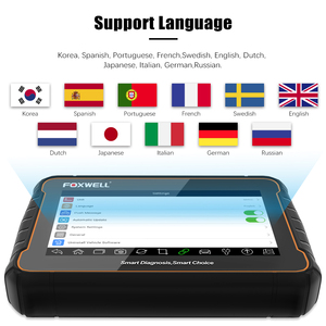 Image 5 - Foxwell GT60 Plus Full System OBD2 Automotive Scanner Actuation&Coding ABS Bleeding DPF ODB2 OBD 2 Car Auto Diagnostic Tool