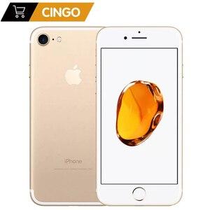 "Image 1 - Sbloccato originale usato Apple iPhone 7 iphone7 2GB RAM 32/128 / 256GB ROM 4.7 ""99 nuova fotocamera 12.0MP quad core 4K video LTE"