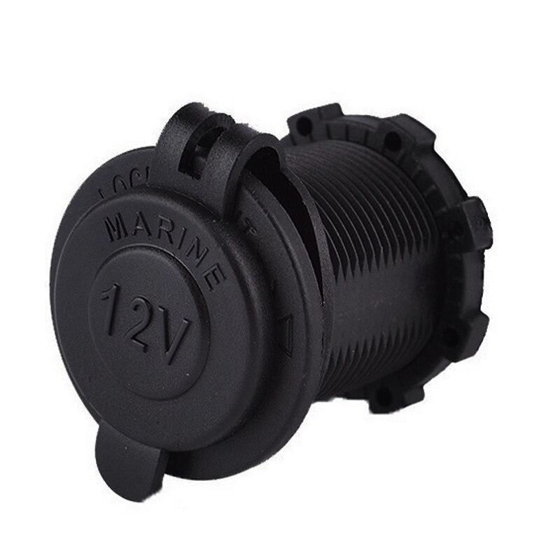 12V Waterdichte Sigarettenaansteker Auto Boot Motorfiets Tractor Stopcontact Socket Bakje Auto Accessoires Dropship