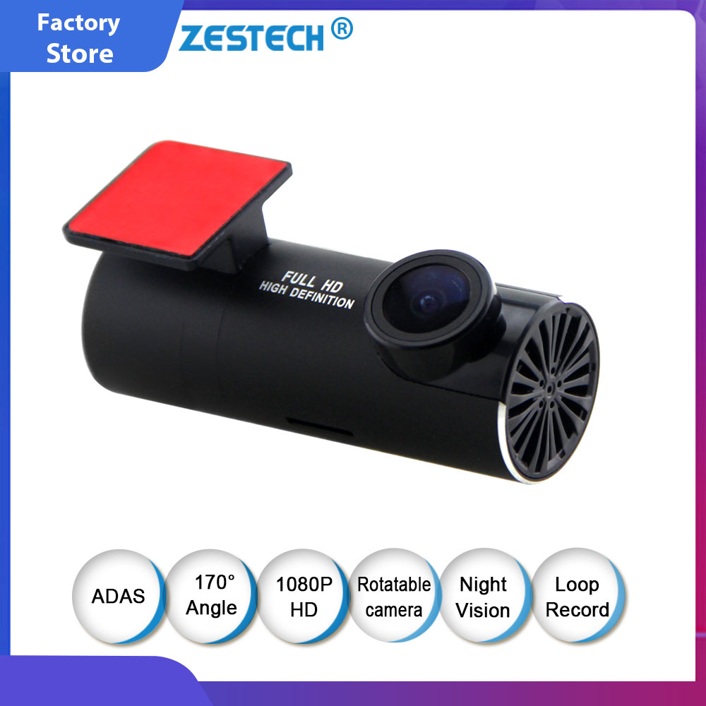 Night Vision Android Car DVR Camera ADAS Car Dash Camera Auto Camera Car DVR Camera Video Recorder Drive Dashcam Full HD 1080 P image