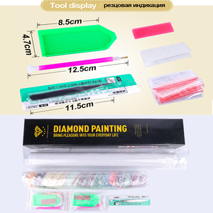 Image 5 - Meian 5D Diamond Painting Full Drill Diamond Embroidery Great Wall Home Decoration DIY broderie diamant New 2019 Crafts AB Beads