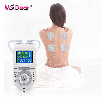 Elektryczna maszyna do akupunktury dziesiątki dziesiątki jednostka Pulse masażer ciała cyfrowy EMS stymulator mięśni niska częstotliwość fizjoterapia urządzenie tanie i dobre opinie Ms Dear CN (pochodzenie) BODY 101105 EMS Tens Massager Tens Machine Unit EMS Pulse Massage EMS Muscle Relaxation Digital Meridian Therapy Massage Machine