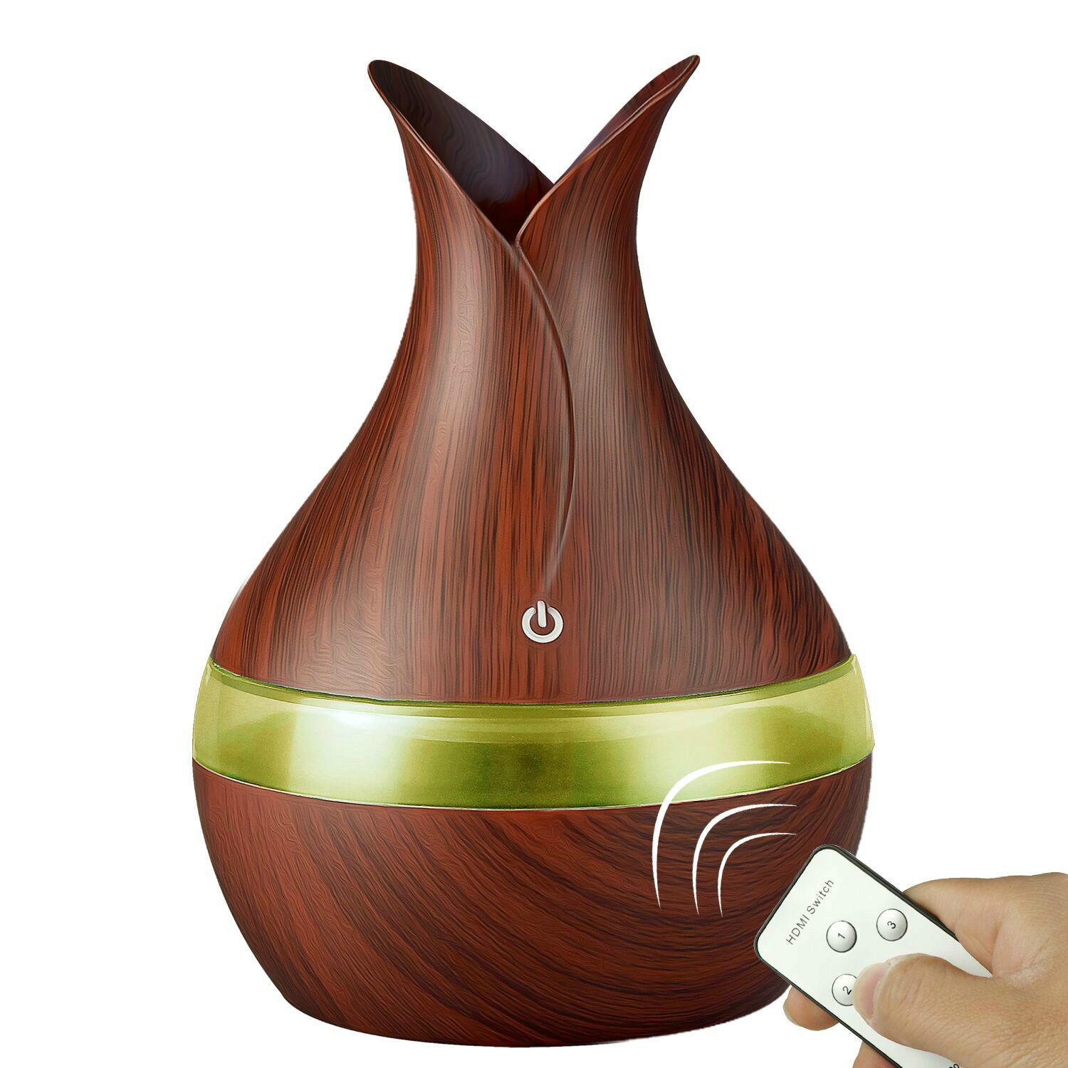 300ml Air Humidifier Essential Oil Diffuser Aroma Lamp Aromatherapy Electric Aroma Mist Maker for Home Yoga Office Spa Bedroom