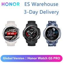 Honor-reloj inteligente Watch GS Pro Original, versión Global, GPS, Route Back, AMOLED, control del ritmo cardíaco SpO2, Bluetooth, batería de 25 días