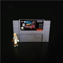 Cartucho de juegos de acción, 16 bits, 46 pin, versión de EE. UU.