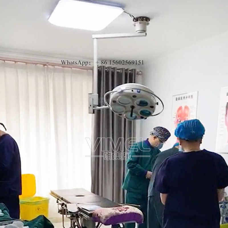 Lámpara de alta calidad Pro halógena, lámpara de operación Dental sin sombra, luz Médica Quirúrgica de techo, lámpara colgante de pared con CE