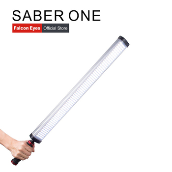 Falcon Eyes Handheld LED Photography Fill Light 22W 4 Color Temperatures with Dimmable Video/Photo Tube Light Stick Saber One