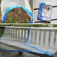 Shelf Shed Clear Anti Bird Net Silver Wire Edging Vegetable Garden Insect Mosquito Net Cover Keep Warm Good Breathability