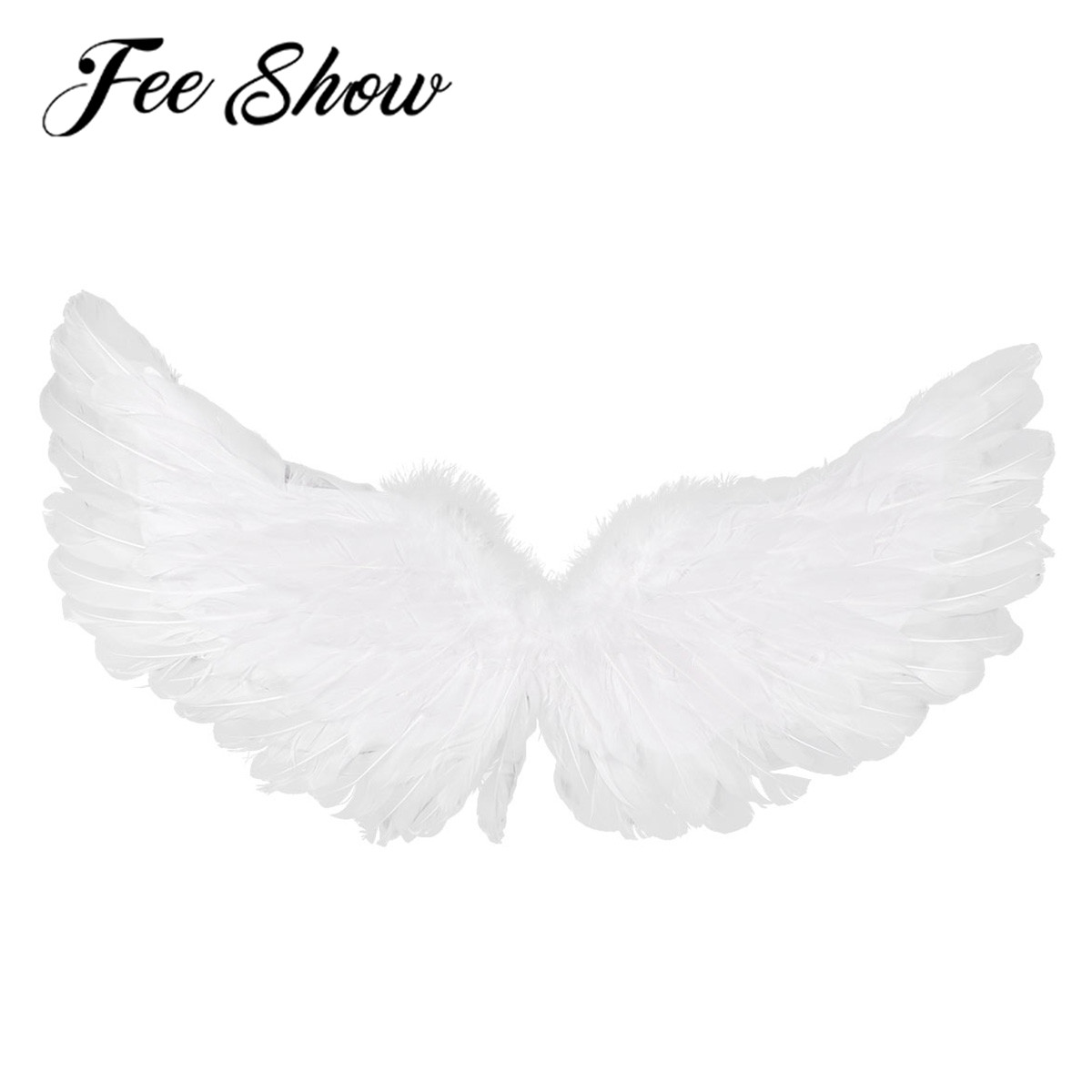Feather Angels Wings Costume Dress Christmas Kids Adults Cosplay Halloween CF