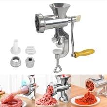 Multifunções mão operado moedor de carne macarrão pimenta salsicha fabricante gadgets manual máquina moagem ferramenta cozinha