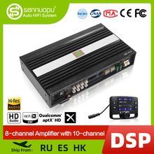 Sennuopu araba DSP amplifikatör hoparlörler için HD Bluetooth ses medya oynatıcı ile dijital sinyal İşlemci yükseltmesi HI FI ses sistemi