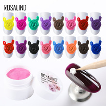 Get more info on the ROSALIND Nail Art 3D Carved Flower Nail Oil Glue Painted Phototherapy Environmentally Friendly Tasteless Clay Carved Rubber 24 C