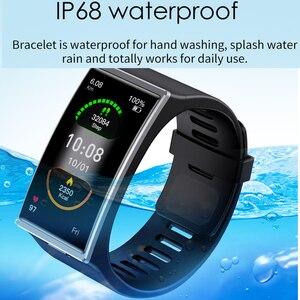 Image 5 - Smartwatch 2021 1.9 אינץ 170*320 מסך DM12 חכם שעון גברים IP68 Waterproof קצב לב לחץ דם Smar להקה עבור אנדרואיד IOS