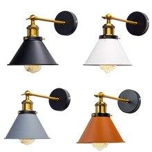Vintage aplique de pared industrial luces varita lámpara de pared Retro 110 V-220 V E27 interior dormitorio bar o balcón pasillo lámpara