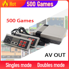 Built In 500/620 Games Mini TV Game Console 8 Bit Retro Classic Handheld Gaming Player AV/HDMI Output Video Game Console Toy