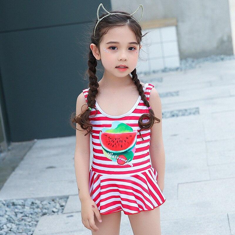 Dress-GIRL'S Swimsuit Cute Little Girl Infants Swimwear New Style Little Princess Children Baby Bathing Suit NV