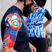 SDIG Top Qualität schwarz Top Qualität kurzarm radfahren jersey pro team aero cut mit Neueste Nahtlose prozess straße mtb