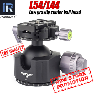 Image 1 - נמוך מרכז כובד Ballhead 54mm 44mm סופר גדול חלול כדור חצובה ראש כפול U ברמה גבוהה במיוחד נמוך פרופיל דעיכת הגדרה