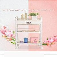Beauty Cart Hair Salon Instrument Storage Cart Trolley Beauty Tools Massage Beauty Salon Furniture Trolley