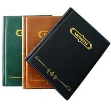 Album Coin-Collection-Book Coin-Badges Coins.10-Sheets-Stamp Album-250/120-Pockets Commemorative