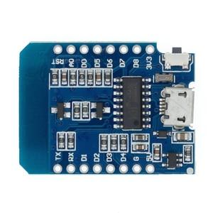 Image 5 - 10pcs D1 mini   Mini NodeMcu 4M bytes Lua WIFI Internet of Things development board based ESP8266 WeMos