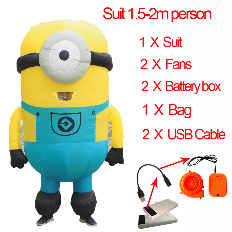 Ghost Inflatable Alien Costume minion Anime Cosplay Grim Reaper Pikachu Suit Adult Men Halloween Alien Ghost Costumes For Women (4)