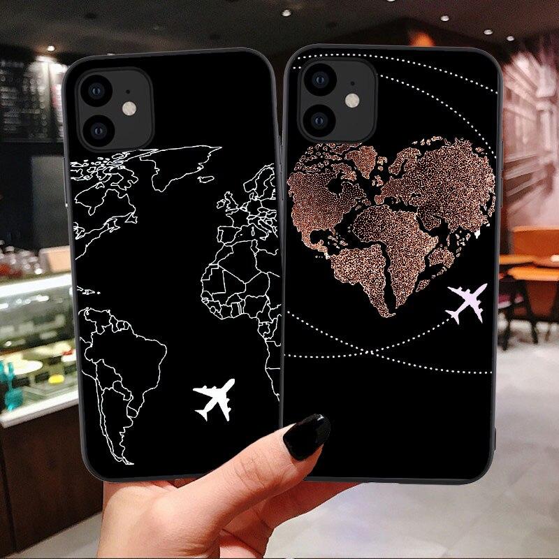 Силиконовый чехол из ТПУ для iPhone 11 Pro Max life Airplane для iPhone 12 6s 7 8 Plus X XR XS Max