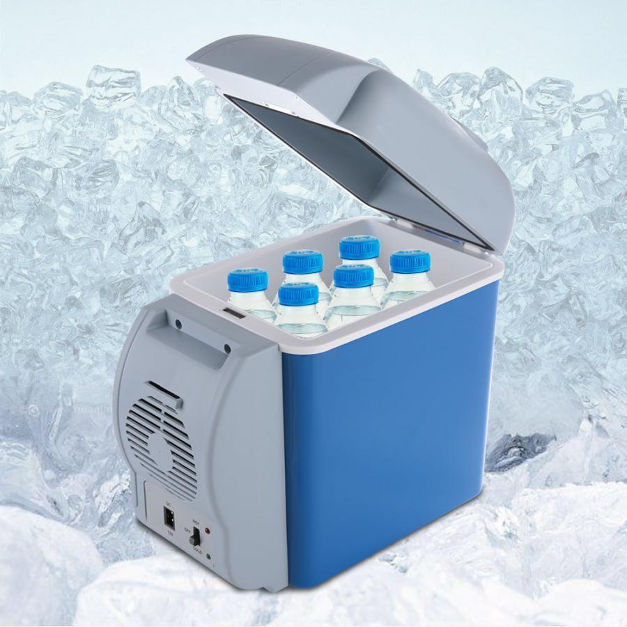 12V 7.5L Camping Fridge Electric Cool Box Cooler Warmer Travel ...