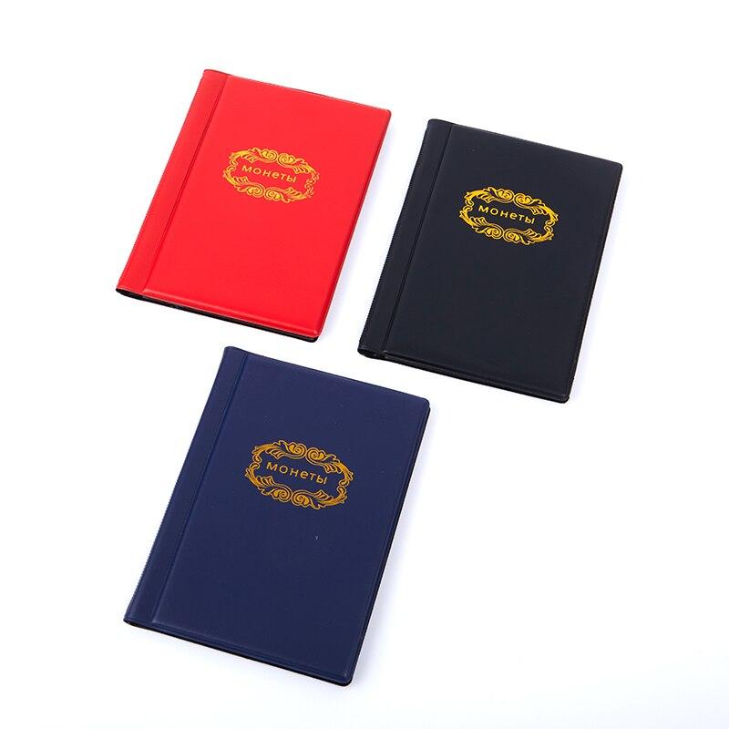 Collecting Money Organizer 120 Pockets Coins Collection Album Book for Collector Coin Holder Albums Mini Penny Coin Storage Bag