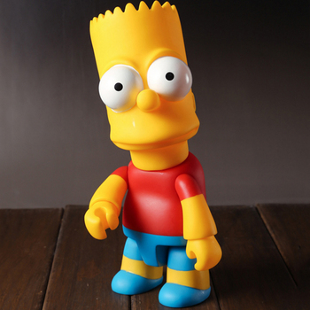 The Bart Simpson Figure Dolls Toy for  Kids Birthday Gifts - 28cm  1