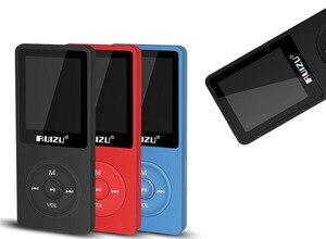Image 2 - 100% מקורי RUIZU X02 MP3 נגן עם 1.8 אינץ מסך יכול לשחק 100 שעות, 8gb עם FM, ספר אלקטרוני, שעון, נתונים
