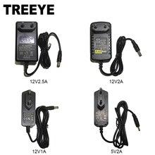 ЕС Австралия Великобритания США Тип штепсельной вилки 12V2. 5A 2A 1A 5,5 мм x 2,1 мм 5V2A 3,5 мм x 1,35 мм Источник питания AC 100-240 В к адаптер постоянного тока для ip-камеры видеонаблюдения