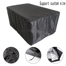 18 размеров водонепроницаемый открытый патио садовая мебель чехлы Дождь Снег чехлы на стулья для дивана стол стул пылезащитный чехол