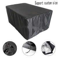 18 tamanhos à prova dwaterproof água ao ar livre pátio jardim mobiliário cobre chuva neve cadeira capas para sofá mesa cadeira à prova de poeira capa