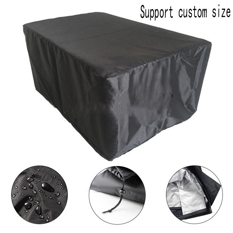 18Sizes Waterproof Outdoor Patio Garden Furniture Covers Rain Snow Chair Covers For Sofa Table Chair Dust Proof Cover