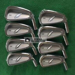 2020New мужские утюги для гольфа TC 710 железный кованый гольф-клуб 4-P (7 шт) Стальной вал для гольфа и головка для гольфа Бесплатная доставка