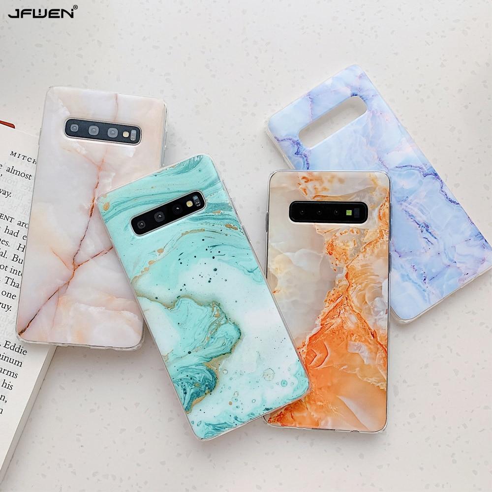 Мраморный чехол для телефона Samsung Galaxy Note 10, 9, 8, S9, S8, S20, Ultra, S10 Plus, S10E, A70, A40, A50, A30S, A50S, A51, A71, 5G, A41 Специальные чехлы      АлиЭкспресс