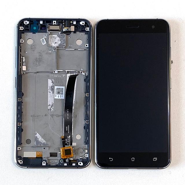 "5.2"" Original M&Sen Asus Zenfone 3 ZE520KL ZA520KL LCD Screen Display+Touch Panel Digitizer Frame Z017DB Z017D Z017DA"