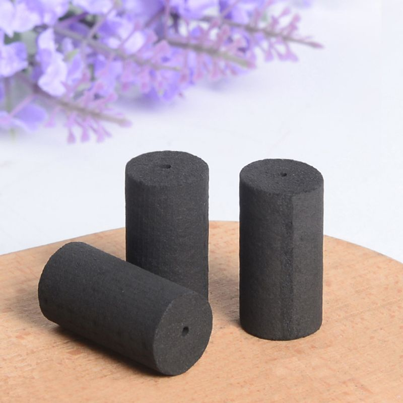 1Pc 12x30mm Handmade Five Years Old Smokeless Black Moxa Rolls Stick Acupuncture Moxibustion Massage No Smoke Wormwood Rod Q0KD