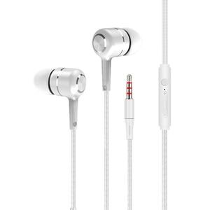 Эргономичные наушники-вкладыши с чистым звуком, HD насыщенные басы, наушники со штекером 3,5 мм, проводные наушники, гарнитура с микрофоном дл...