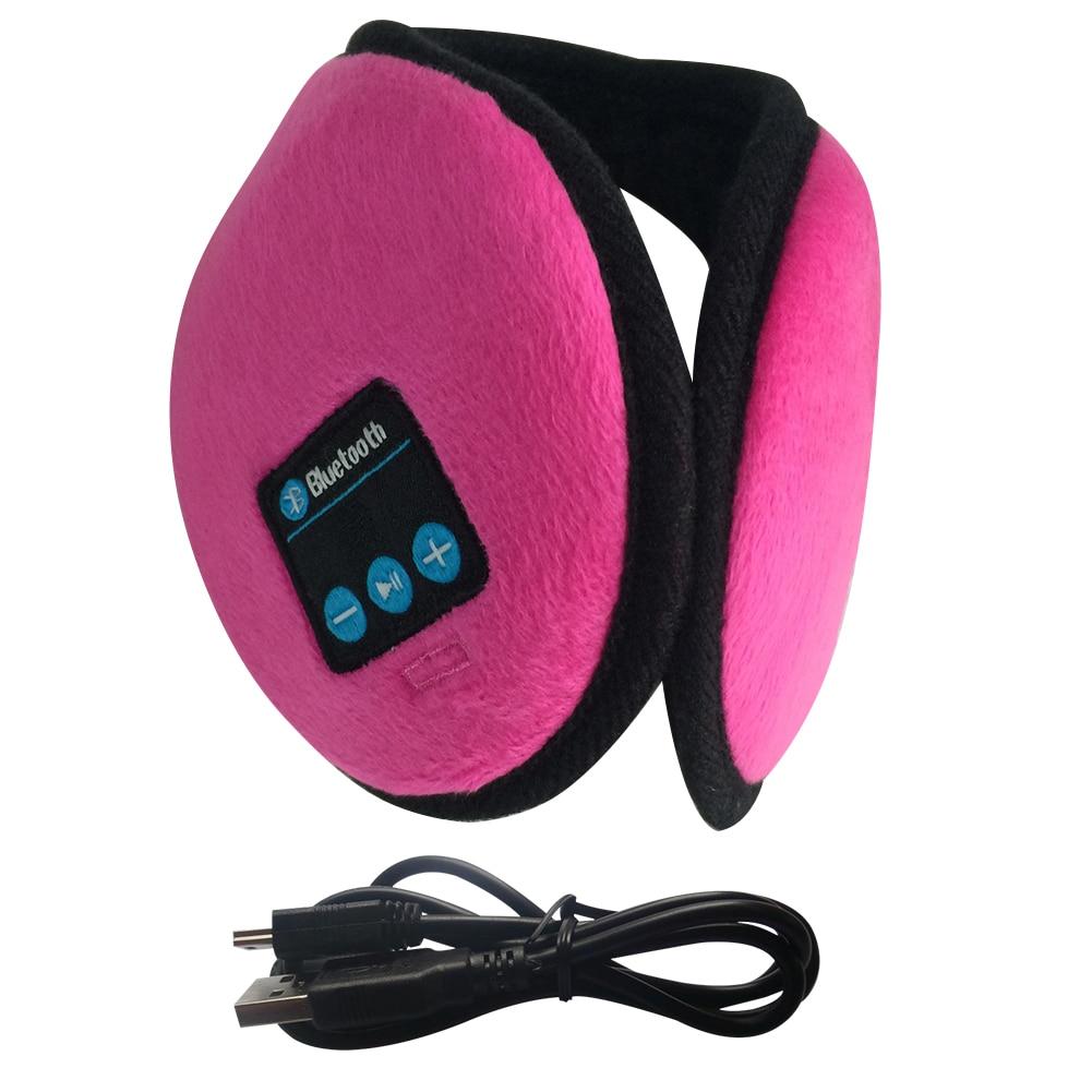 Winter Running Bluetooth Earmuffs Indoor Outdoors Activities Headphones Music Wireless HD Stereo Women Men Ear Warmer Headset