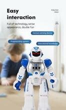 Zk30 rc робокоп умный робот дошкольного образования машина инфракрасная
