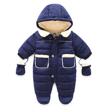 baby girl winter coat Infant Climbing Suit Children's Jumpsuit Thickening Newbor