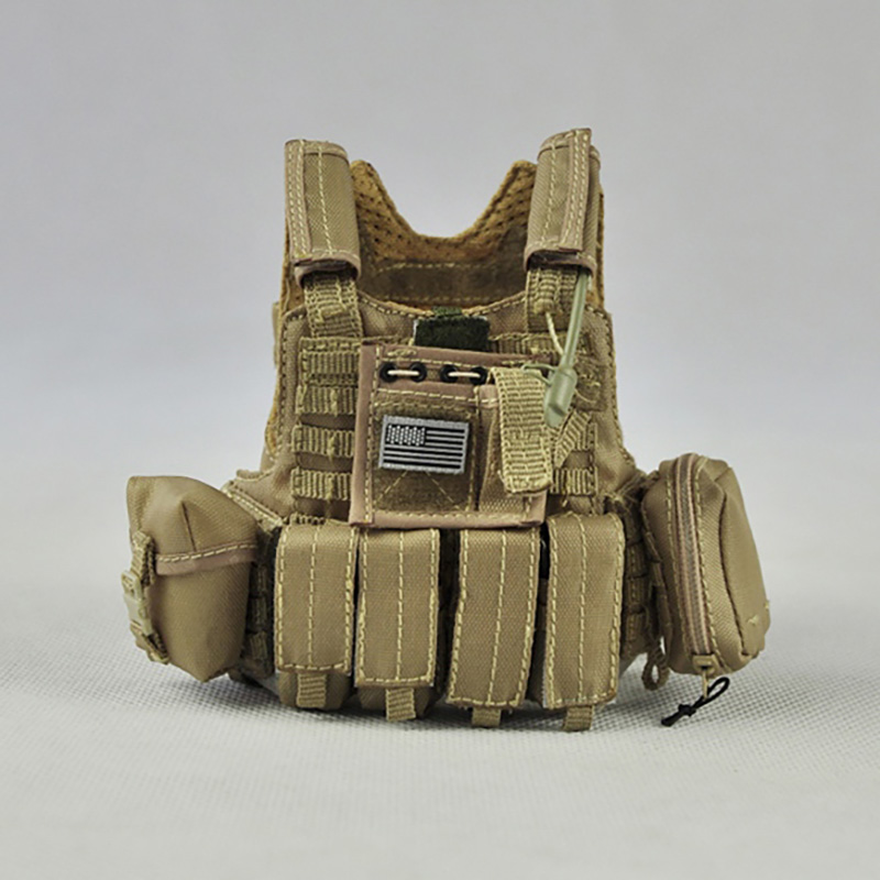 <font><b>1/6</b></font> Scale US Navy Male Tactical Chest Hanging Bulletproof Vest Men Soldier <font><b>Body</b></font> Armor For 12