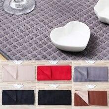 38X51 Cm Microfiber Dish Drogen Mat Voor Keuken Kussen Pad Servies