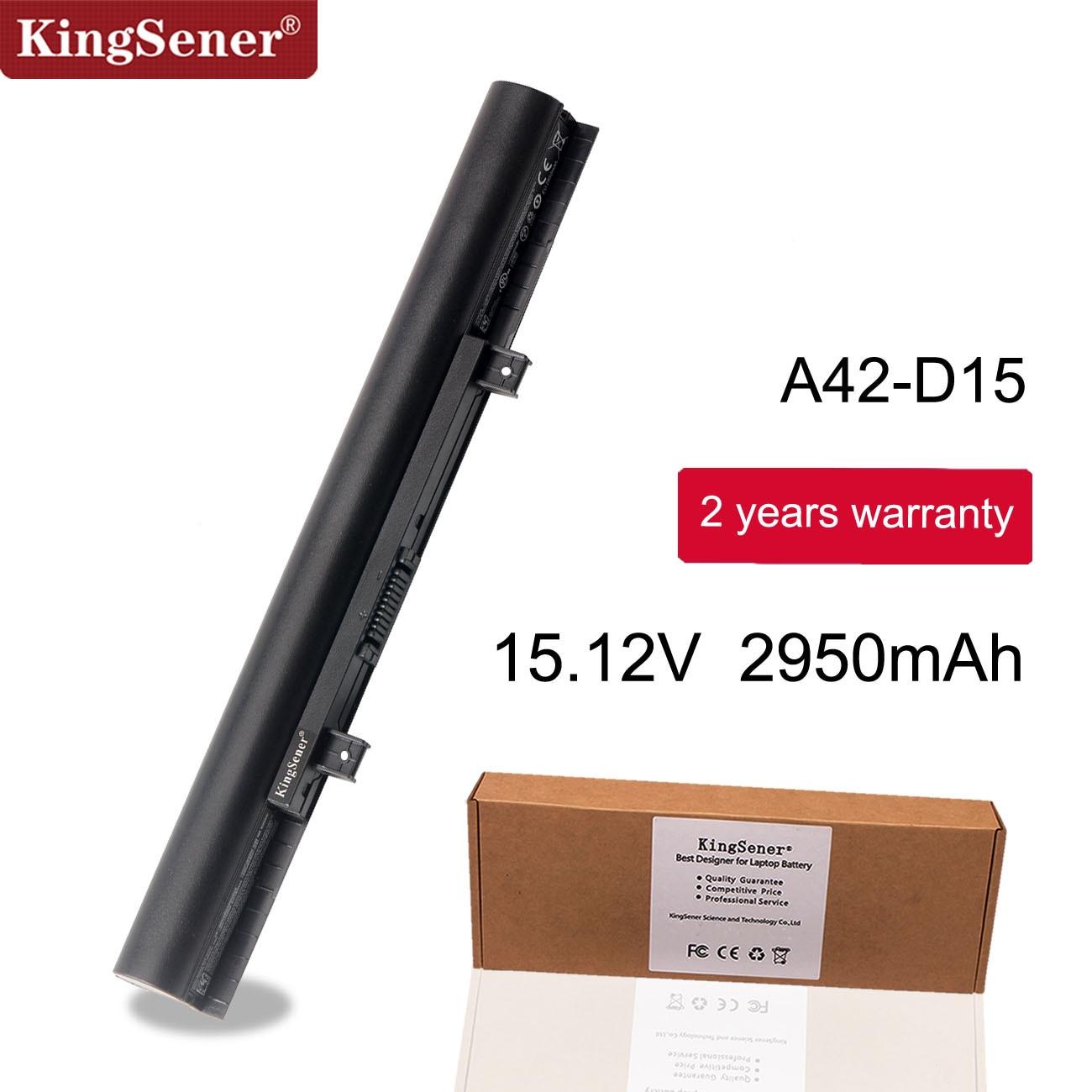Kingsener A41-D15 For Medion Akoya E6411 E6422 E6421 E6417 E6421 P6659 P6670 E6424 P6657 ERAZER P6661 A42-D15 A42-D17 A31-D15